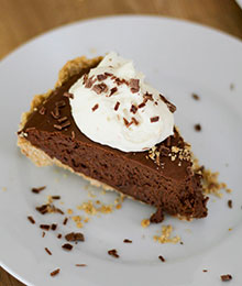 Dr. Beth's Easy No-Bake Chocolate Silk Pie