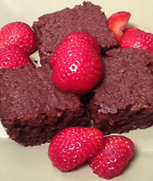 Dr. Beth's Flax Brownies