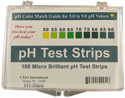 pH Test Strips 100
