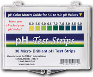 pH Test Strips 30